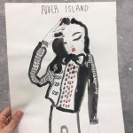 River Island  36 x 28 cm 20 £ with no frame